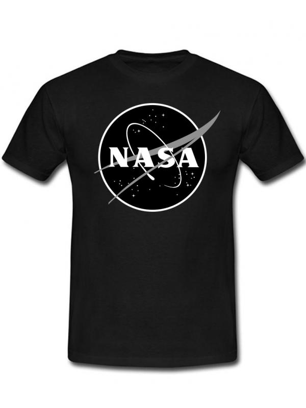 RXL Paris NASA Space Agency Black Logo T-Shirt Black