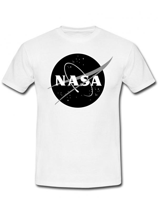 RXL Paris NASA Space Agency Black Logo T-Shirt White
