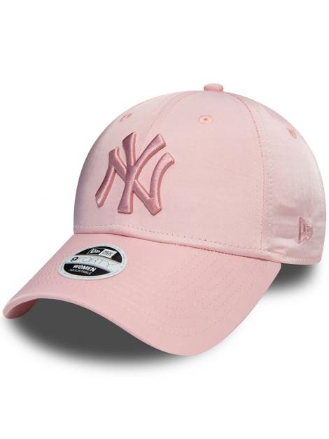 New Era 9Forty Women New York Yankees Satin Pink