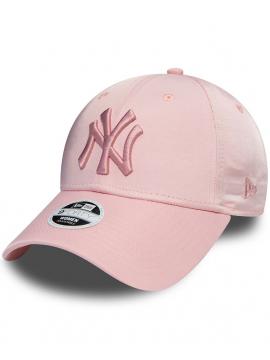 New Era 9Forty Femme Casquette New York Yankees Satin Rose