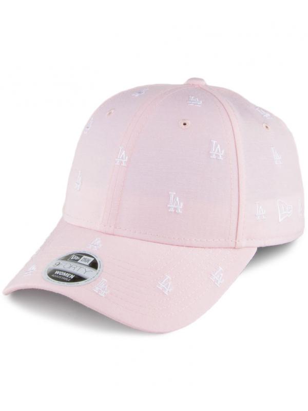 New Era Women 9Forty L.A. Dodgers Baseball Cap MLB Monogram Pink