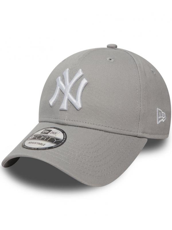New Era - 9Forty Adjustable NY in Grey