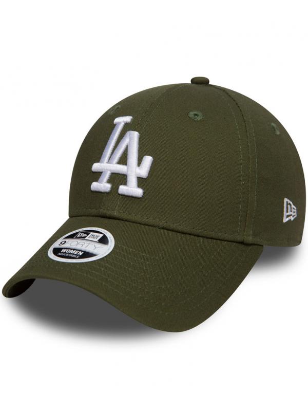New Era 9Forty Femme Adjustable Casquette Los Angeles Dodgers Vert Militaire
