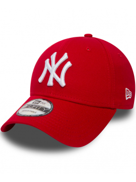 New Era Casquette 9Forty Adjustable New York Yankees Rouge