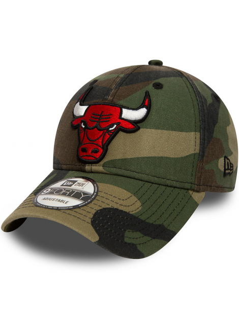 New Era 9Forty Chicago Bulls Délavé Camo