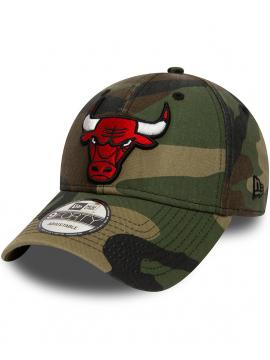 New Era 9Forty Chicago Bulls Délavé Camo
