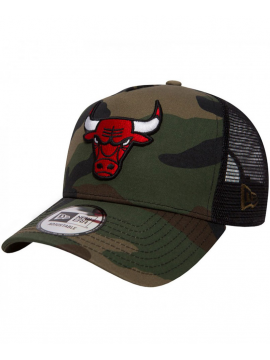 New Era - Casquette 9Forty Chicago Bulls Team Essential Trucker Camouflage