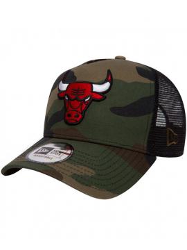 New Era - Chicago Bulls Team Essential Trucker 9Forty Camo