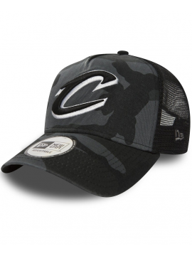 New Era - Cleveland Cavaliers Trucker Adjustable Midnight Camo