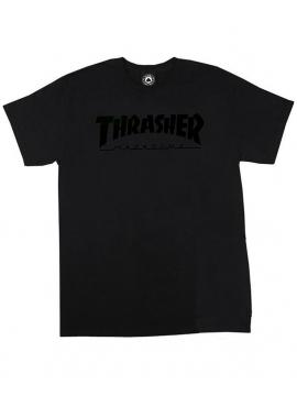 Thrasher Magazine Logo T-Shirt Black