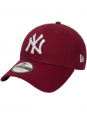New Era 9Forty League Essential New York Yankees Rouge Cardinal