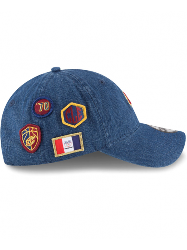 New Era 9Twenty Denim Cleveland Cavaliers 2018 Draft