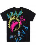Pink Dolphin T-Shirt Leap Of Faith Noir