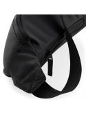 RXL Paris Rick Embroidered Patch Belt Bag Black