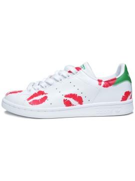 Remix Line Custom x Adidas Stan Smith Kisses