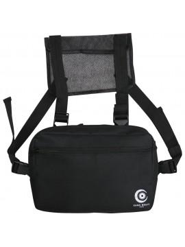 Sans Bruit Paris Chest Bag Black
