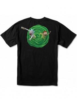 Primitive T-Shirt Rick Et Morty 3D Noir
