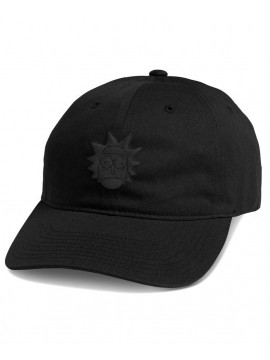 Primitive Rick Puff Dad Hat Black