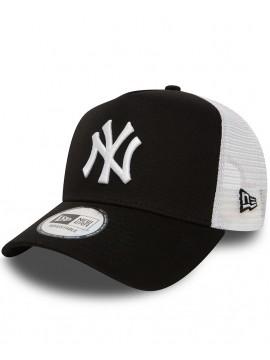 New Era - Casquette Adjustable New York Yankees Clean A Frame Trucker