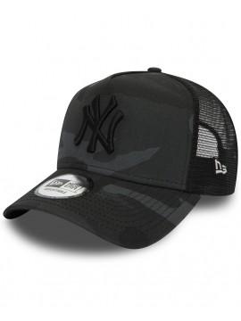 New Era - New York Yankees A-Frame Trucker Midnight Camo