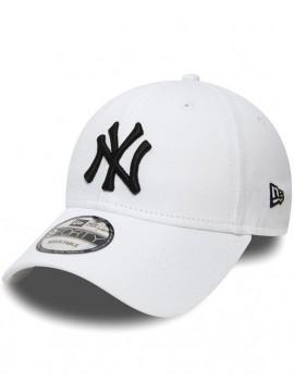 Casquette New Era 9Forty NY Yankees League Basic 940 Blanc