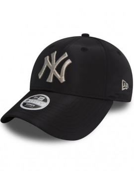 Casquette Femme New Era 9Forty NY Yankees Sport940 Noir