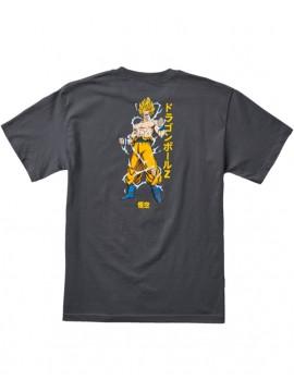 Primitive Super Saiyan Goku SS T-Shirt Charcoal