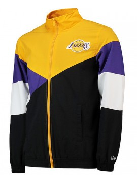 New Era Veste NBA Lakers Retro Colour Block Track