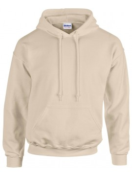 Sweat Capuche Beige - Gildan Heavy Blend