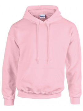 Sweat Capuche Rose - Gildan Heavy Blend