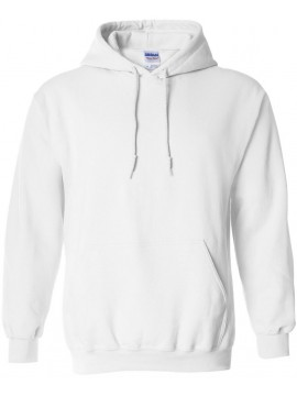 Gildan Heavy Blend Hoodie White