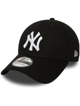 Casquette New Era 39Thirty New York Yankees League Basic Noir