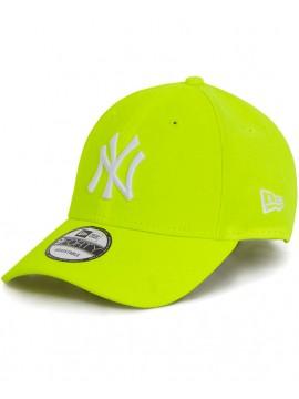 New Era 9Forty NY Yankees Neon Yellow - NY Fluo