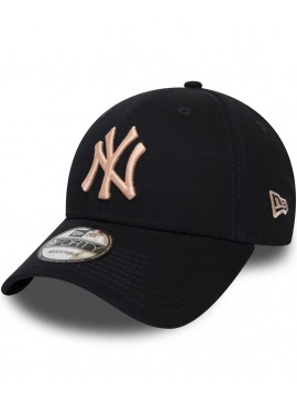 Casquette New Era New York Yankees Essential 9Forty Bleu Marine