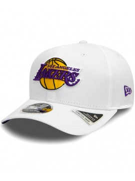 Casquette New Era Los Angeles Lakers Stretch Snap 9Fifty Blanc