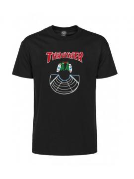 Thrasher Doubles Tortue Ninja T-Shirt Noir