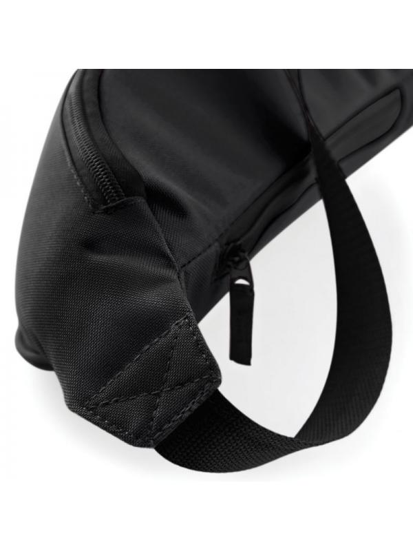 RXL Paris Morty Embroidered Patch Belt Bag Black