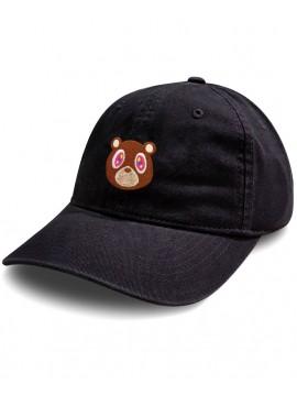 Casquette Dad Hat RXL Paris Kanye West Murakami Patch Brodé - Noir