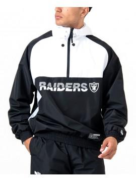 Veste Coupe-vent New Era Oakland Raiders Colour Block Noir