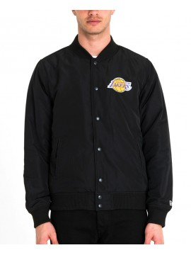 New Era - Veste Bombers Los Angeles Lakers Noir