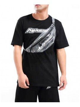 Black Pyramid - Clear Waist Bag