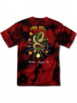 Primitive x Dragon Ball Z - Shenron Wish Washed SS Tee Red/Black