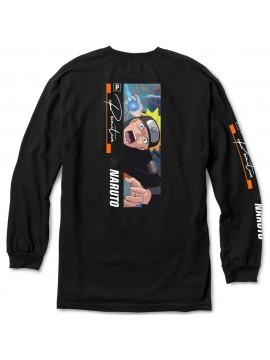 Primitive x Naruto Shippuden - Tshirt Manches Longues Combat Noir
