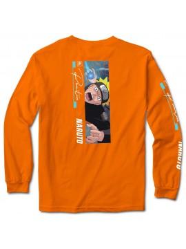 Primitive x Naruto Shippuden - Tshirt Manches Longues Combat Orange