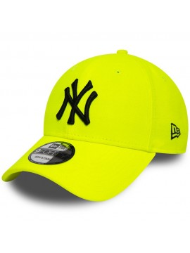 New Era - Casquette 9Forty New York Yankees Neon Jaune