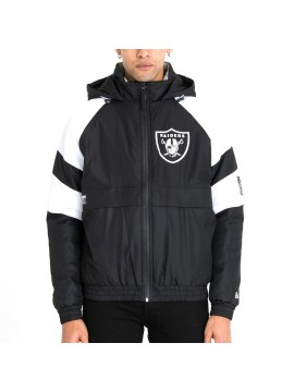 New Era - Blouson NFL Oakland Raiders Noir