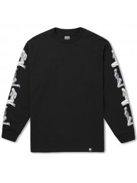 HUF - T-Shirt Manches Longues HUF x Sorayama Noir