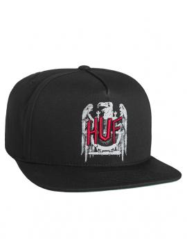 HUF - Vulture Snapback Black