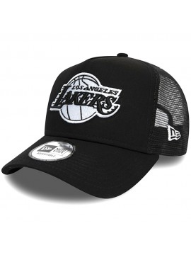 New Era - Casquette Los Angeles Lakers NBA Essential Trucker Adjustable Noir