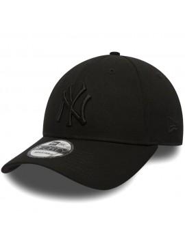 New Era - Casquette 9Forty NY Yankees Essential Noir Sur Noir